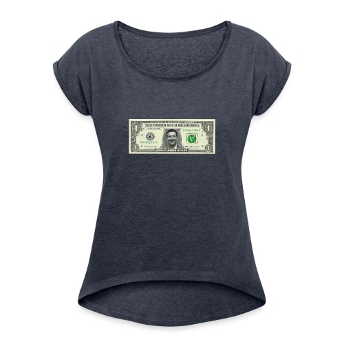 United Scum of America - Women's T-Shirt with rolled up sleeves