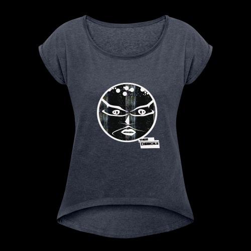 shirt streets png - Vrouwen T-shirt met opgerolde mouwen