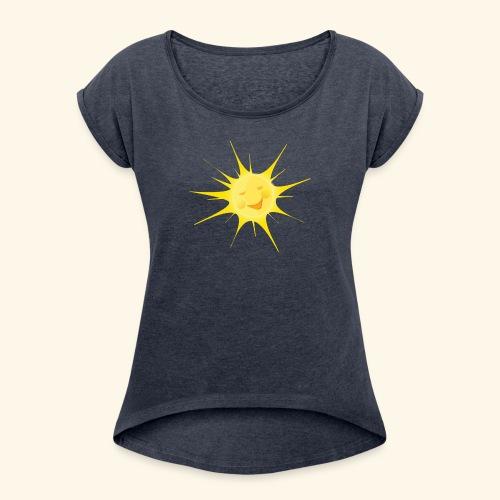 sole - Maglietta da donna con risvolti