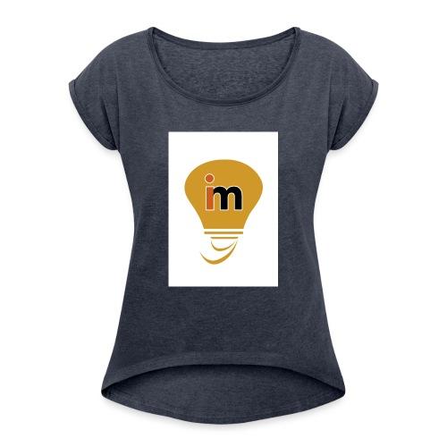 Ideeinmovimento - Maglietta da donna con risvolti