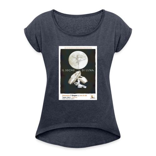 Il Sogno di Luna - Maglietta da donna con risvolti