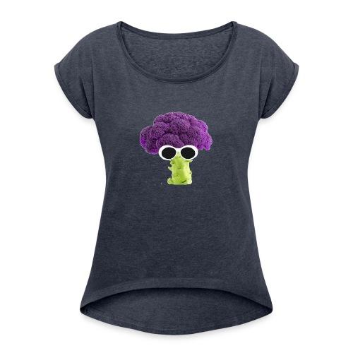lilbroccoli - Dame T-shirt med rulleærmer