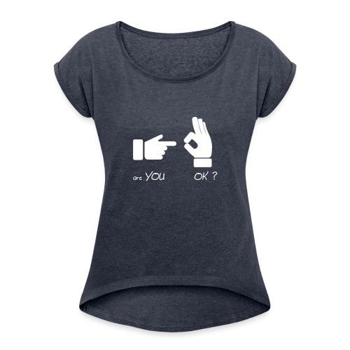 êtes-vous d'accord? (Fun Sex) - T-shirt à manches retroussées Femme