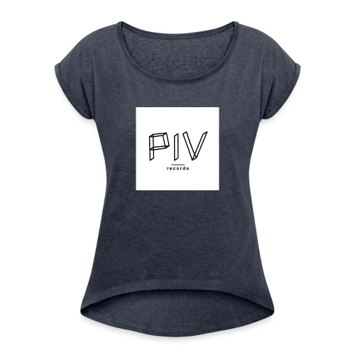 PIV T-Shirts - Women's T-Shirt with rolled up sleeves
