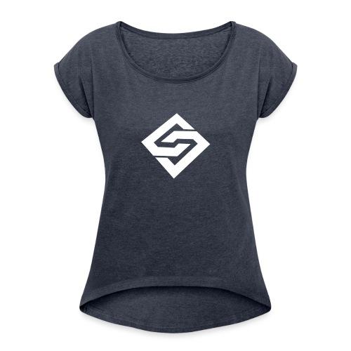 Orion Sniping - T-shirt à manches retroussées Femme