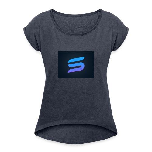 SkyMaster - Dame T-shirt med rulleærmer