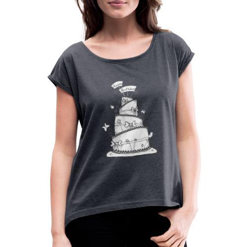 Torta - Maglietta da donna con risvolti