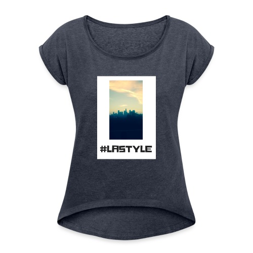 LA STYLE 3 - Women's T-Shirt with rolled up sleeves
