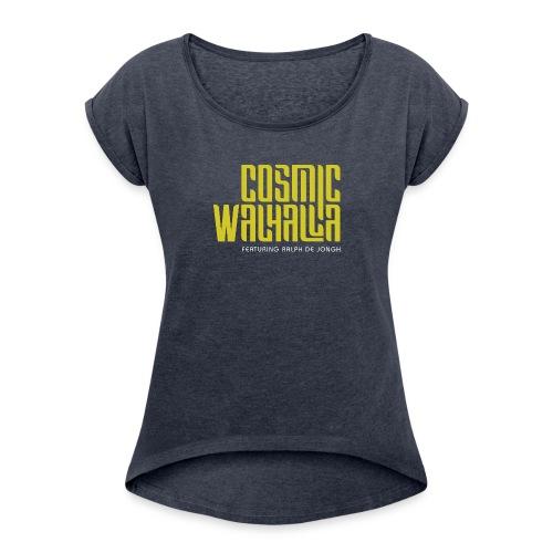 Cosmic Walhalla - Vrouwen T-shirt met opgerolde mouwen