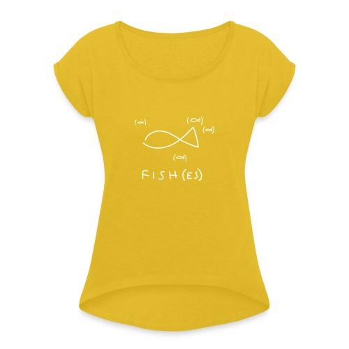 fish (es) - Maglietta da donna con risvolti