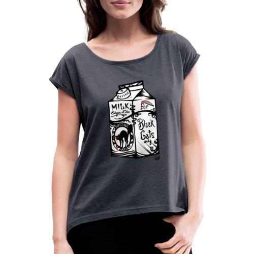 Il Latte di Edgar Allan Poe! - Maglietta da donna con risvolti