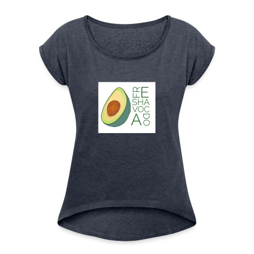 FRESHAVOCADO - Women's T-Shirt with rolled up sleeves
