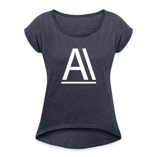 Akro-gaming - T-shirt à manches retroussées Femme