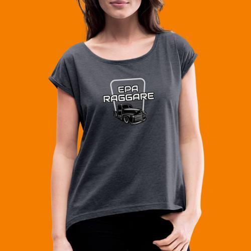Epa raggare - T-shirt med upprullade ärmar dam