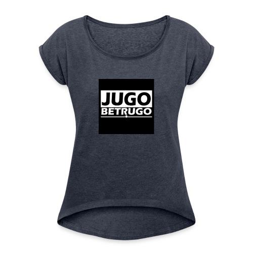 YUGO - BETRUGO - Frauen T-Shirt mit gerollten Ärmeln