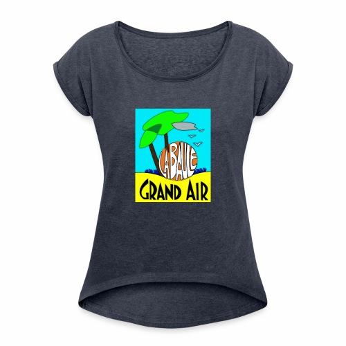 Grand-Air - T-shirt à manches retroussées Femme