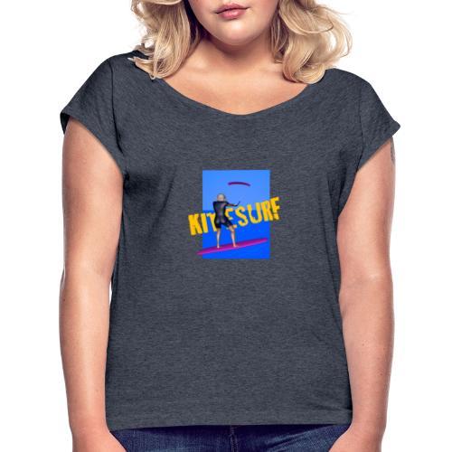 KITESURF FEMME - T-shirt à manches retroussées Femme