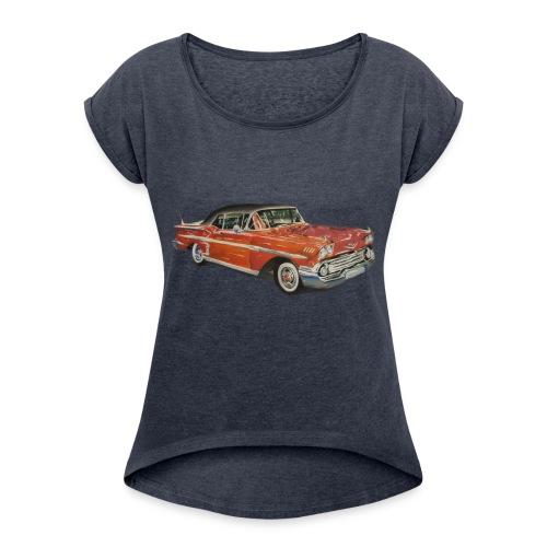 Bel-Air - Frauen T-Shirt mit gerollten Ärmeln