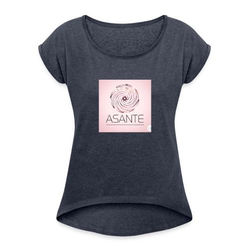 Asante - Maglietta da donna con risvolti