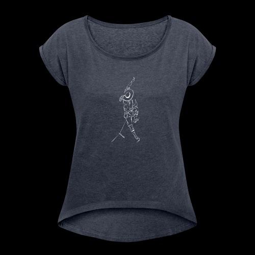 Tiroler Bergsteiger - Maglietta da donna con risvolti