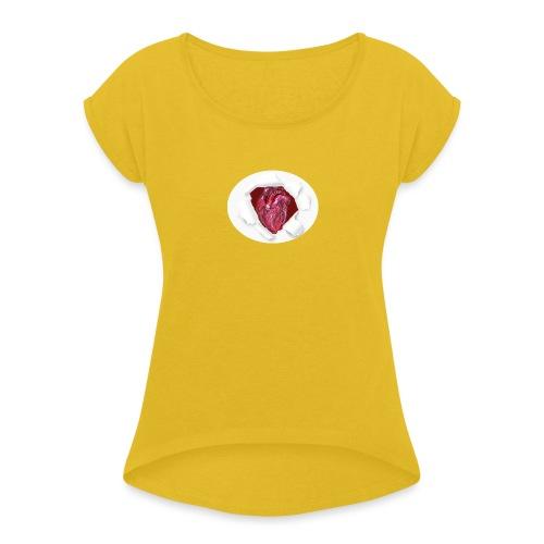 CUORE BATTICUORE - Maglietta da donna con risvolti