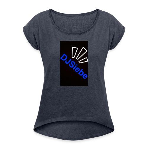 Dj Siebe - T-shirt à manches retroussées Femme