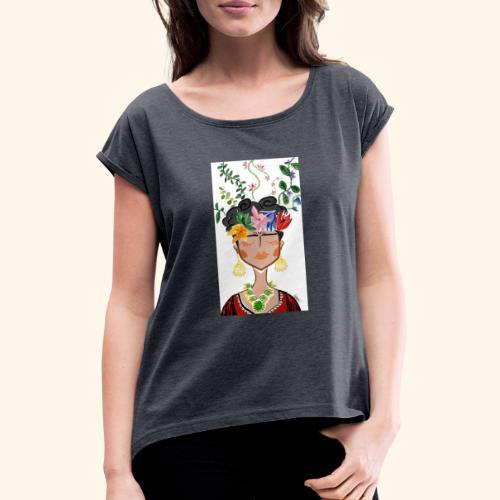 Frida - Maglietta da donna con risvolti
