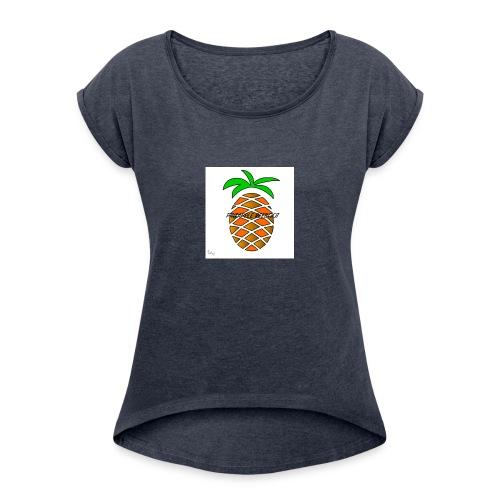 PINEAPPLE REEBOOT 6/6S COVER HVID - Dame T-shirt med rulleærmer