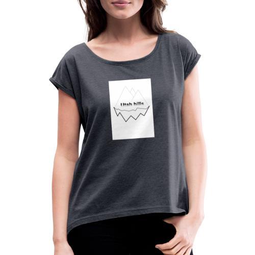 Utah hills - Dame T-shirt med rulleærmer