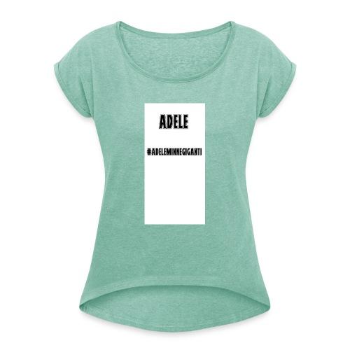 t-shirt divertente - Maglietta da donna con risvolti