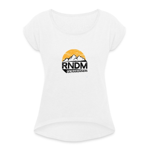 RndmULTRArunners T-shirt - Women's T-Shirt with rolled up sleeves