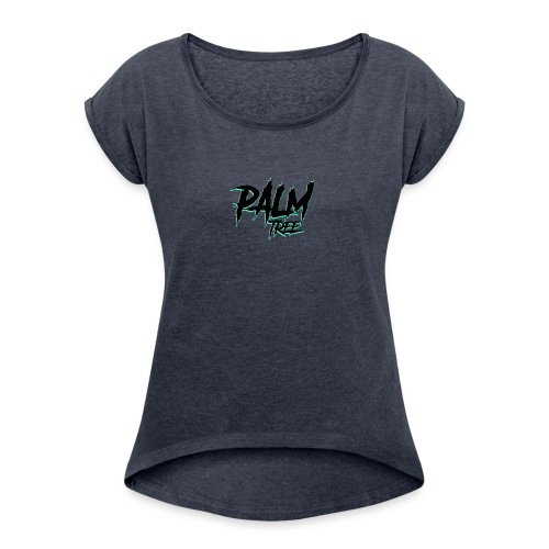 PALMTREE STREETWEAR - Camiseta con manga enrollada mujer