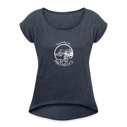 Les pêcheries de Prefailles - T-shirt à manches retroussées Femme