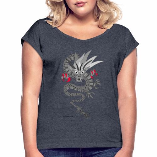 Baldrian - T-shirt à manches retroussées Femme