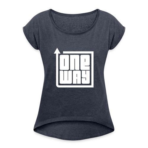 2127962 110808264 none orig png - Frauen T-Shirt mit gerollten Ärmeln