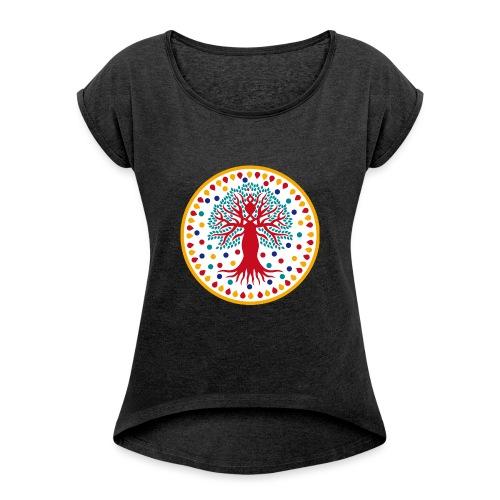logo alberotalenti solo sfondo trasparente png - Maglietta da donna con risvolti