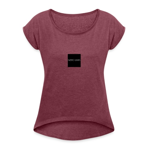 Nzero Limits - Women's T-Shirt with rolled up sleeves