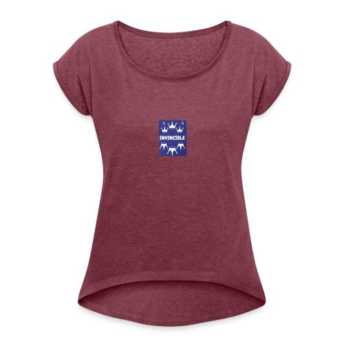 Invincible - T-shirt à manches retroussées Femme
