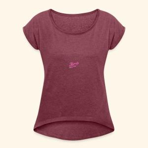 Beauty Girl Ltd logo web medium - Dame T-shirt med rulleærmer