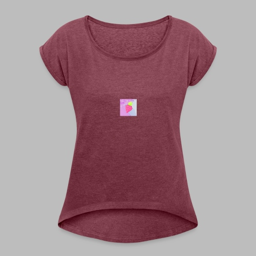 Rose KoKaine - Women's T-Shirt with rolled up sleeves