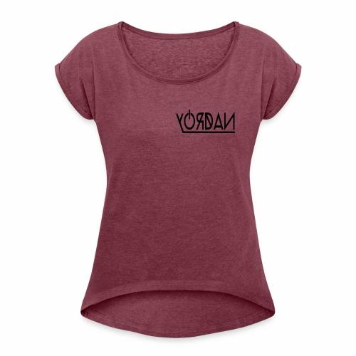 MARCA - Camiseta con manga enrollada mujer
