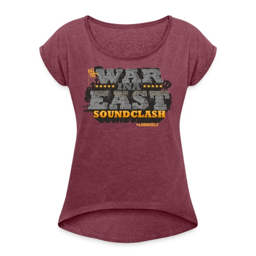 WAR INA EAST woman - Women's T-shirt with rolled up sleeves