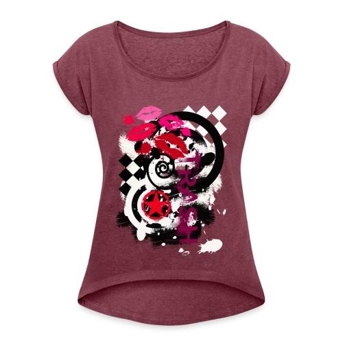 NMA 722 - Frauen T-Shirt mit gerollten Ärmeln
