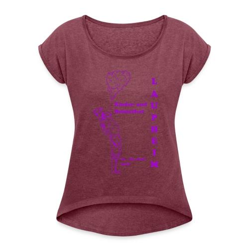 KuH Shirt 2018 - Frauen T-Shirt mit gerollten Ärmeln
