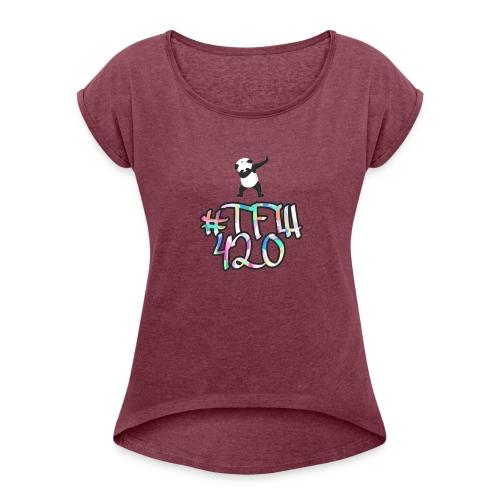 #TFW 420 - Maglietta da donna con risvolti