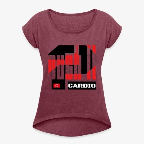 Push it - T-shirt à manches retroussées Femme