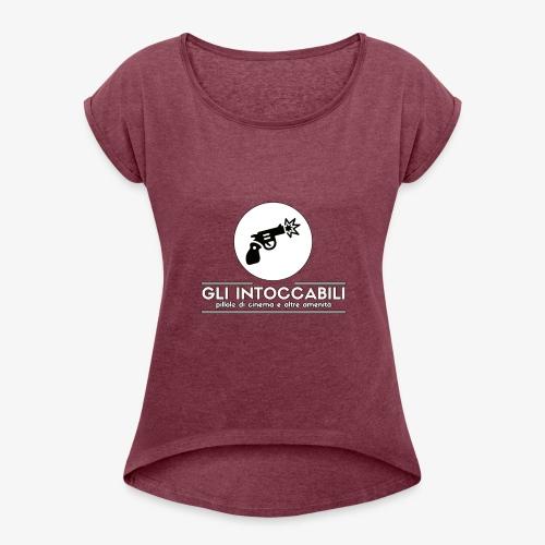 T Shirt - Gli Intoccabili - Maglietta da donna con risvolti