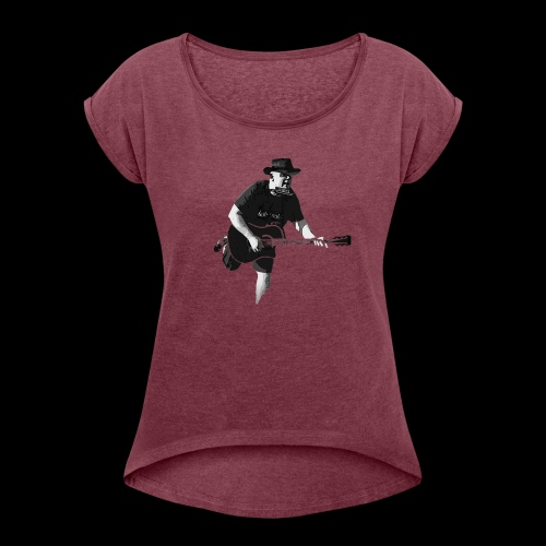 Tom Lago Shop Heu - Frauen T-Shirt mit gerollten Ärmeln