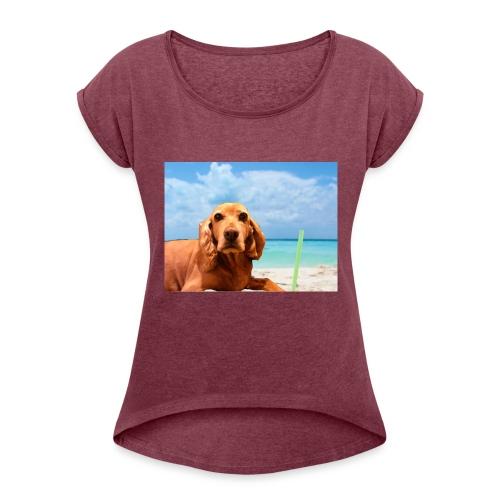 perry-fotoscompleta-jpg - Camiseta con manga enrollada mujer