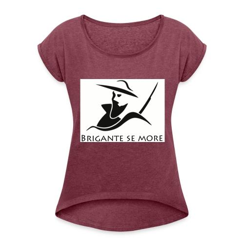 Briganti - Maglietta da donna con risvolti